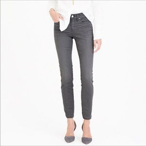 J. Crew Toothpick Stretch Jeans Gray Size 27